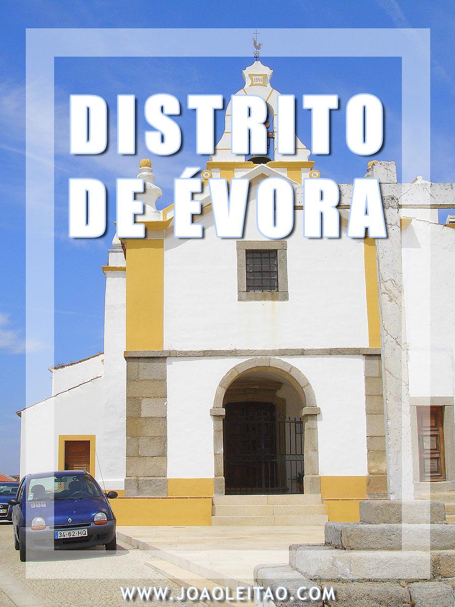 VISITAR O DISTRITO DE ÉVORA