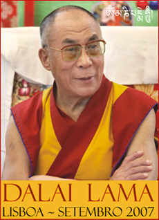 Dalai Lama Lisboa Setembro 2007