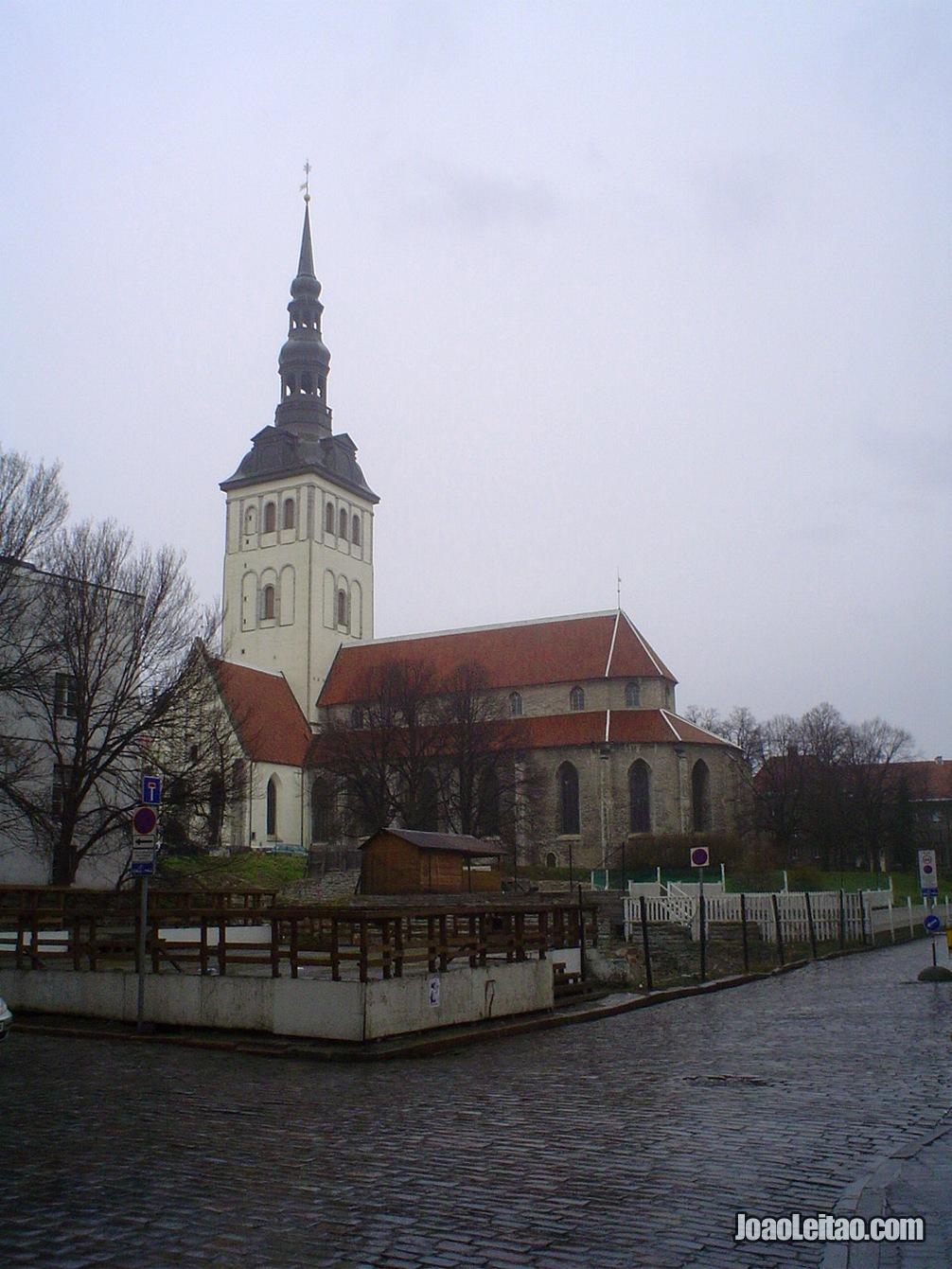 Fotografia de Tallinn, capital da Estónia