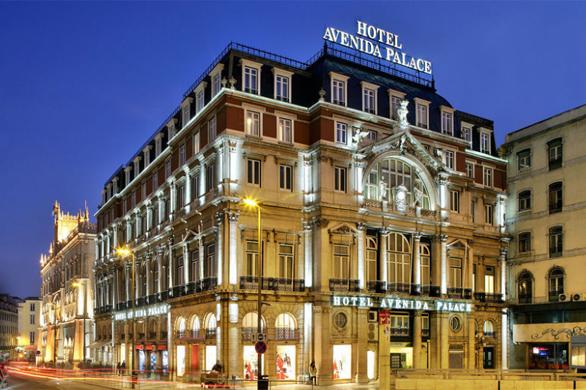 5 estrelas Hotel Avenida Palace em Lisboa