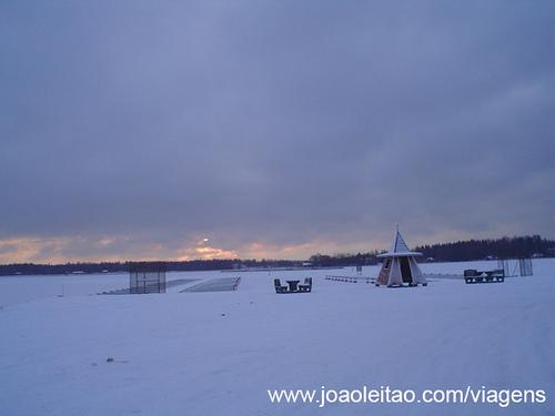 Merikarvia, inverno na Finlândia