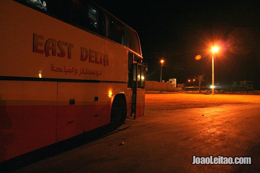 Autocarro Cairo Taba Egito Israel