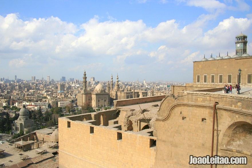 Foto da Citadela Saladin no Cairo