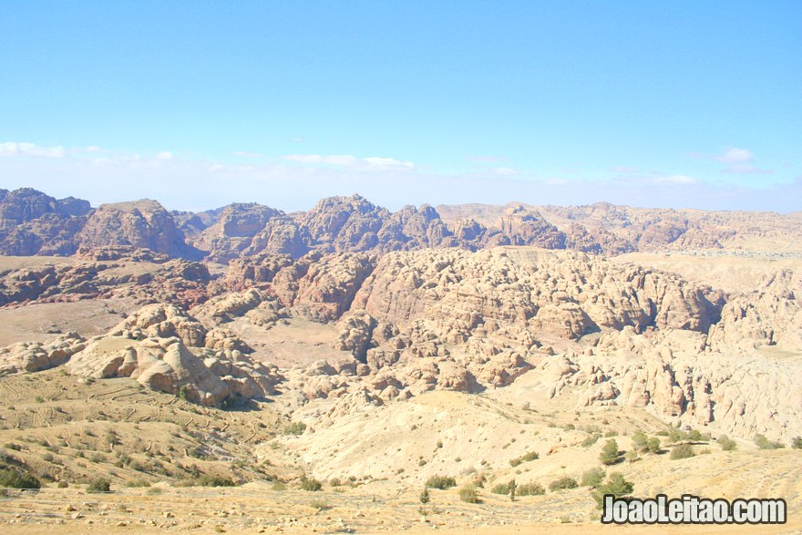 Foto da Estrada do Rei - Kings Way na Jordânia
