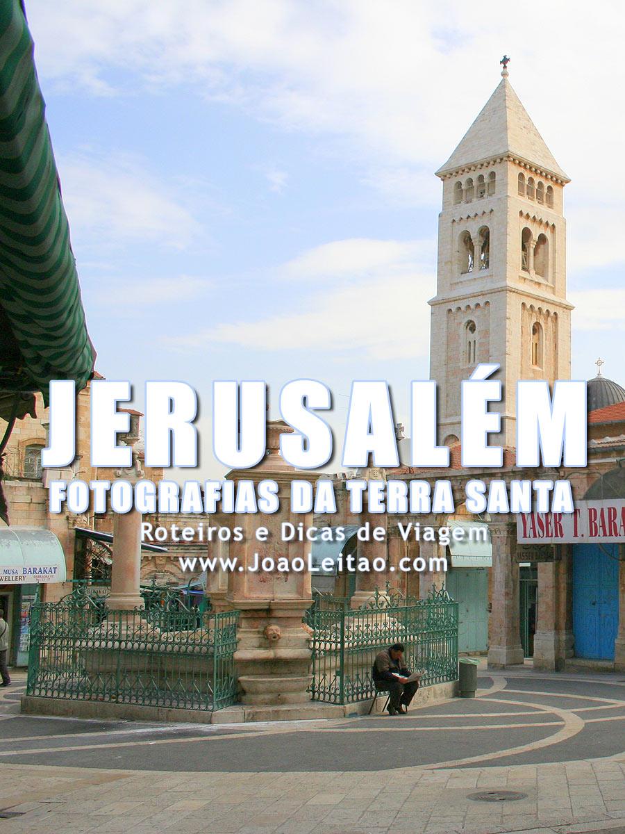 Fotografias de Jerusalém na Terra Santa