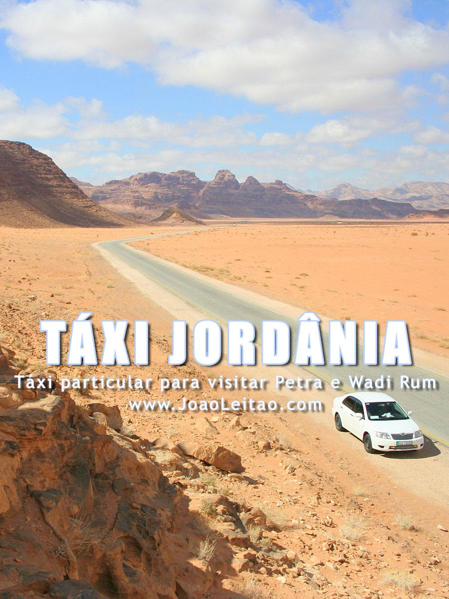 Táxi particular para visitar Petra e Wadi Rum na Jordânia