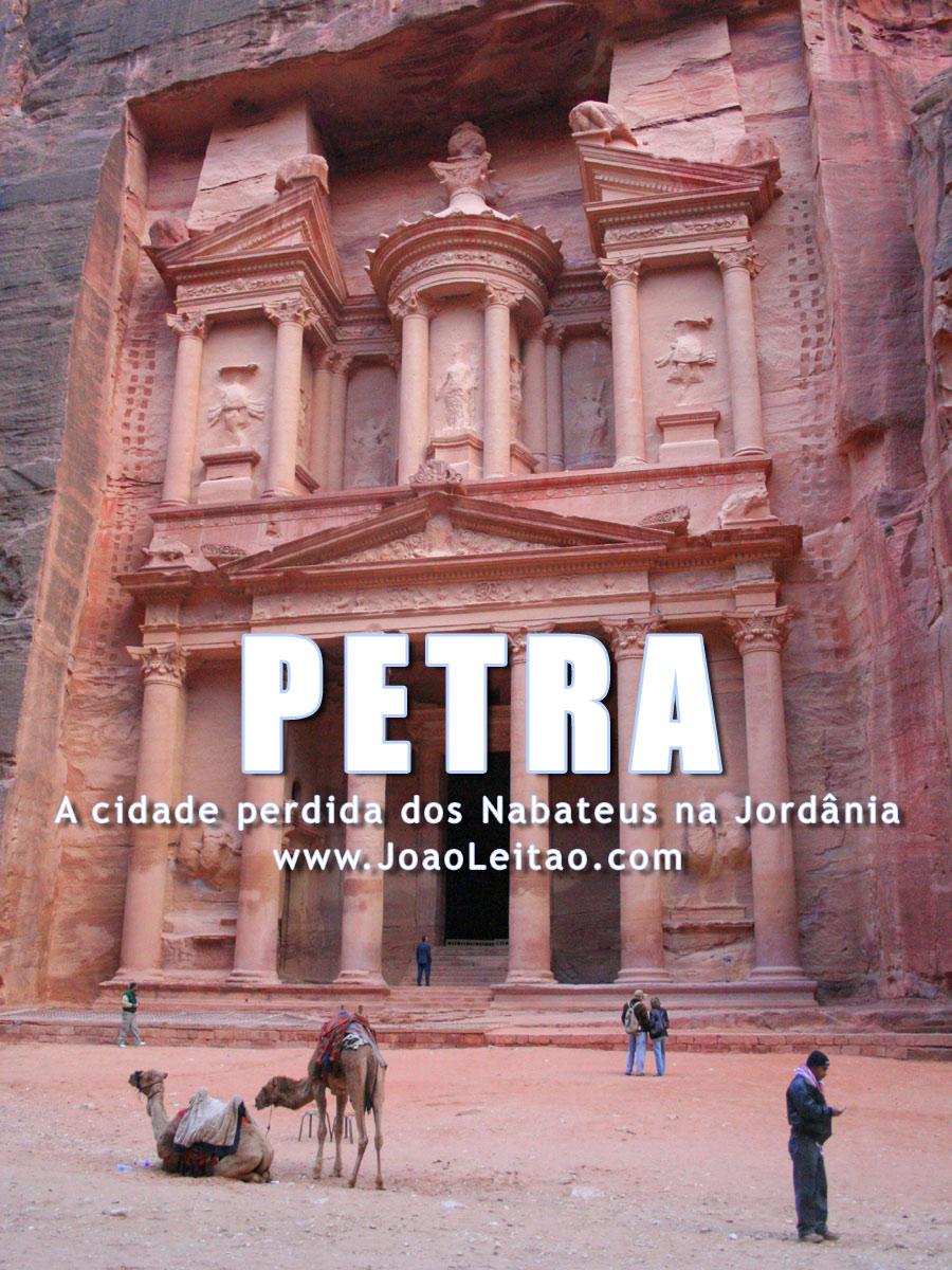 Petra, A cidade perdida dos Nabateus na Jordânia