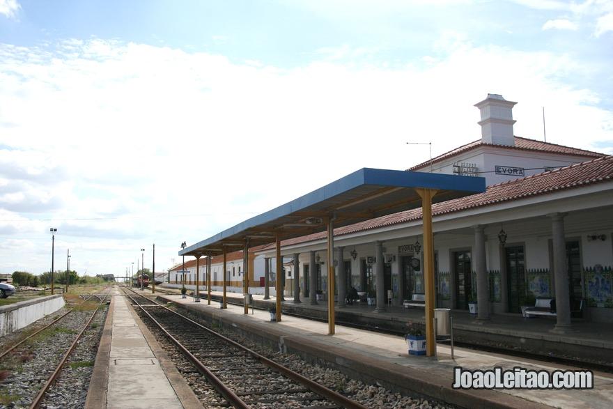 Estação de comboios em Évora