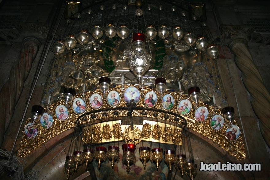 Altar junto à Sepultura de Jesus Cristo
