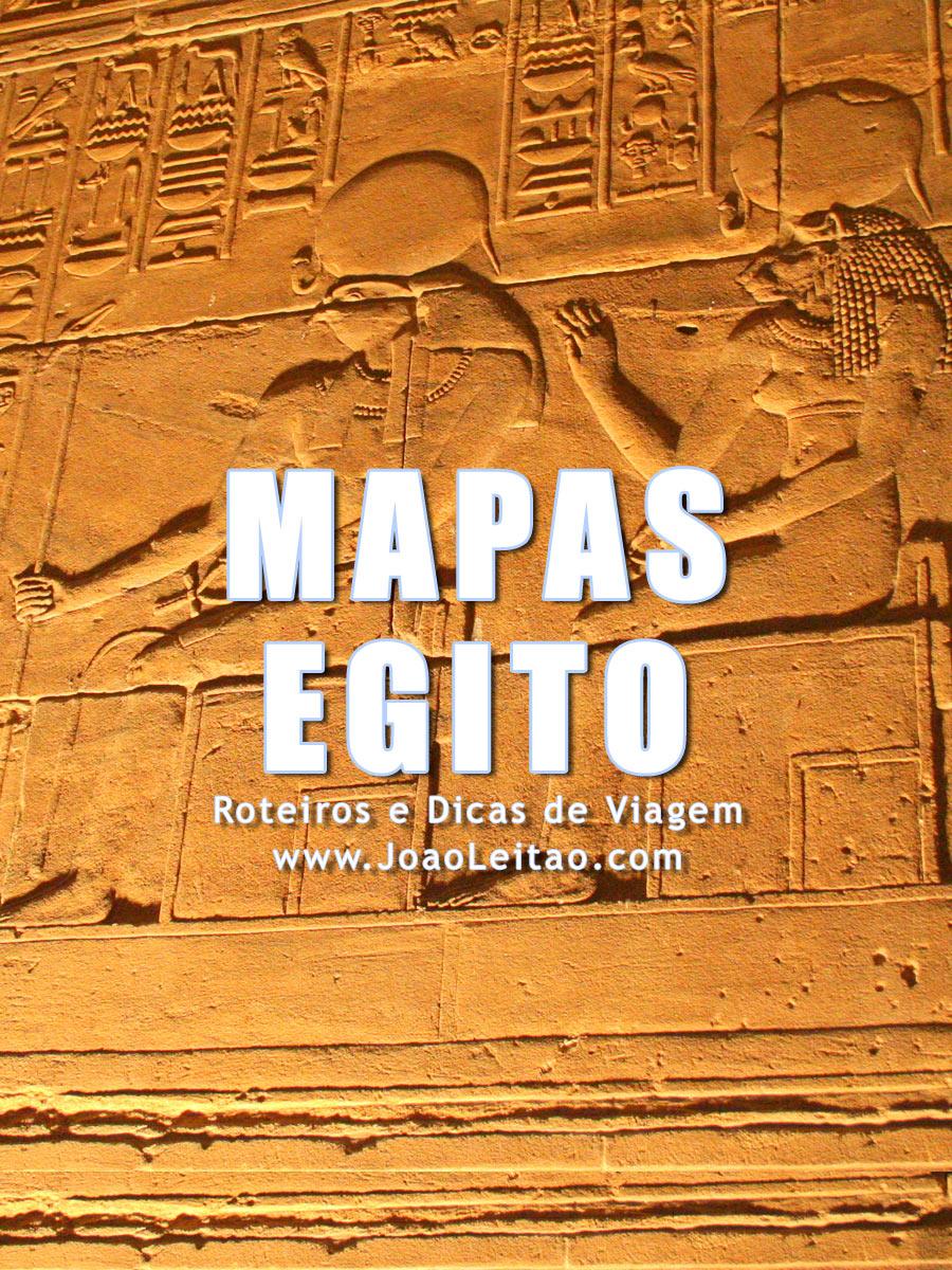 Mapas do Egito - Egipto