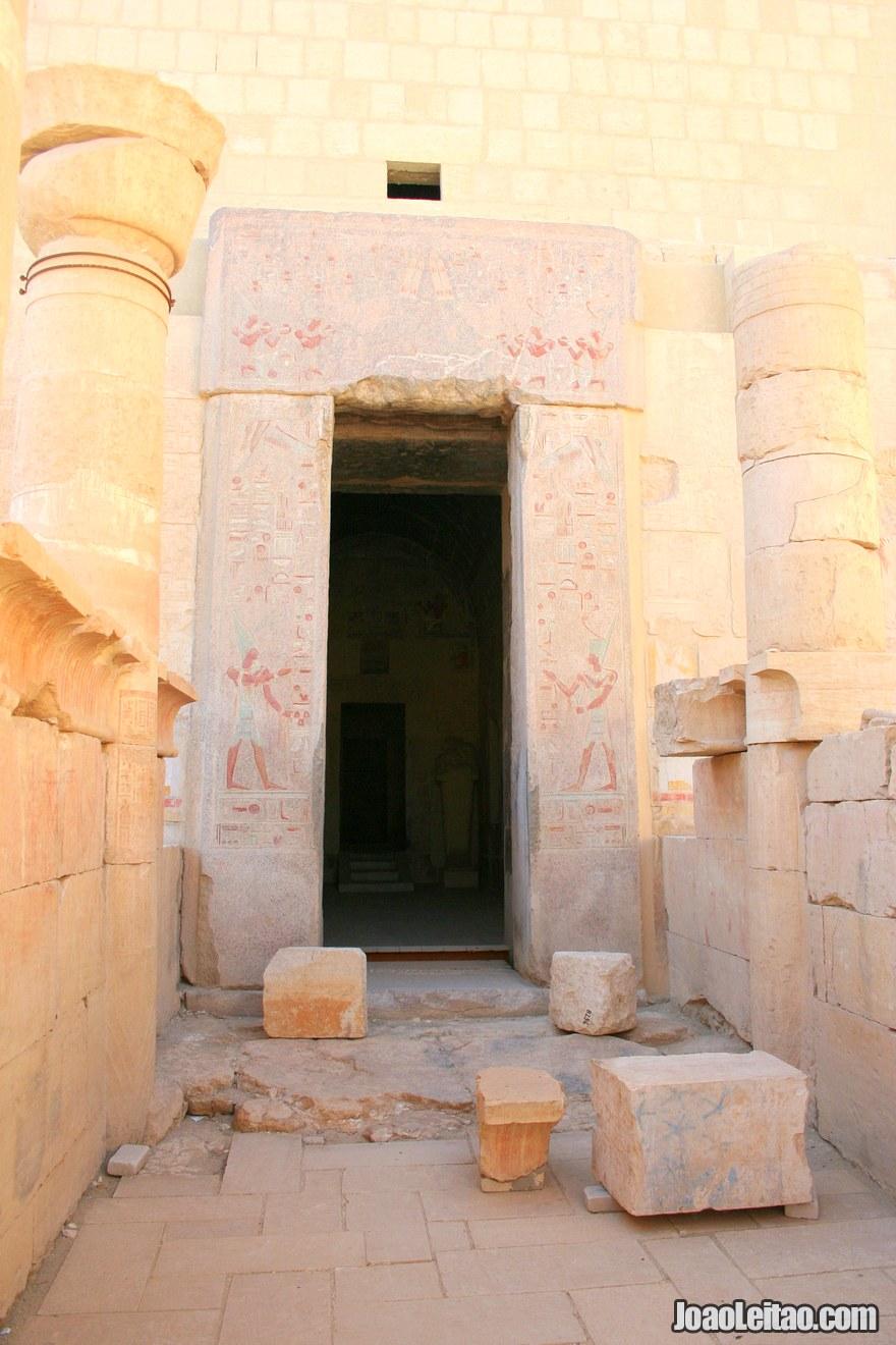 Entrada para o Templo de Hatshepsut