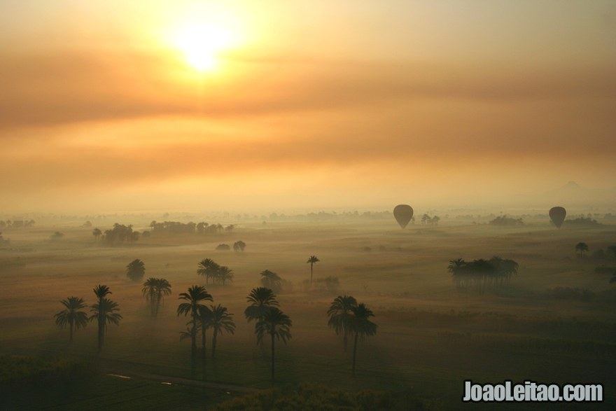 Nascer do Sol em Luxor
