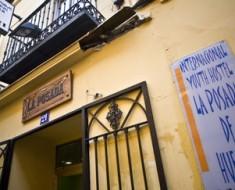 La Posada de Huertas, Hostel barato no centro de Madrid, Espanha