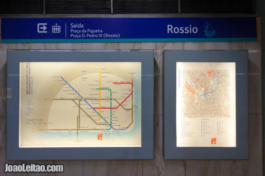 Linhas do Metro de Lisboa