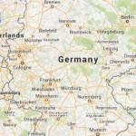 Mapa Google da Alemanha