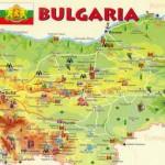 Mapa Monumentos Bulgária