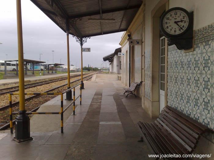 Estação de comboios de Portimão no Algarve