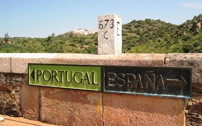 Fronteira Portugal Espanha