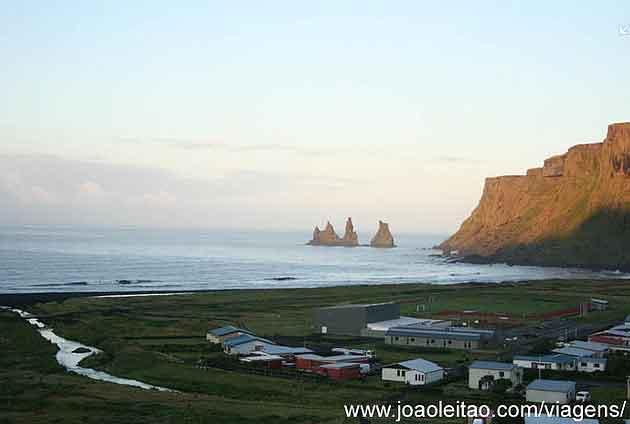Praia de Vík, Costa da Islândia