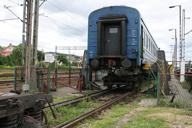 Fotografias Comboio Mudar Rodas Przemysl, Polónia