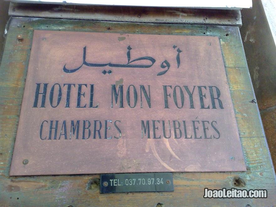 Mon Foyer Hotel Rabat : Hotéis em rabat alojamento barato na capital de marrocos