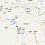 Mapa do Curdistão Iraquiano, Iraque