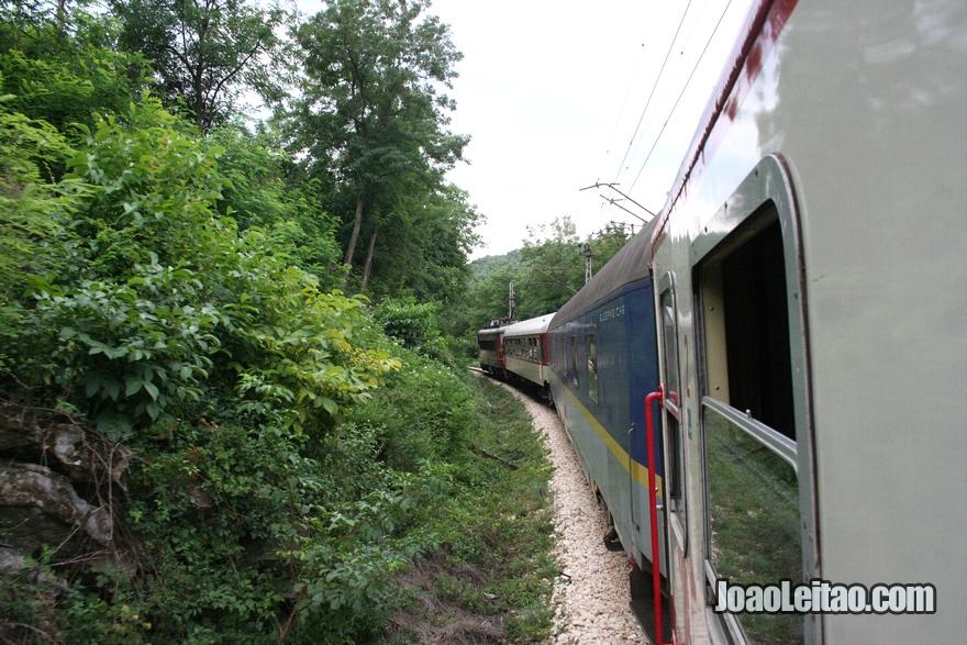 Comboio Bucareste até Istambul