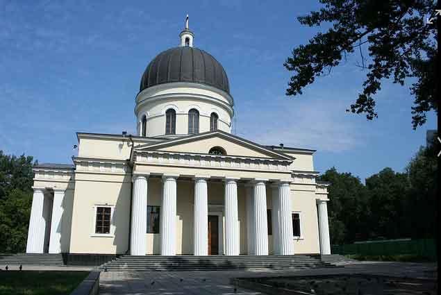 Catedral da Natividade, Chisinau Moldávia