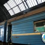 Comboio Lviv até Przemysl, Ucrânia até Polónia