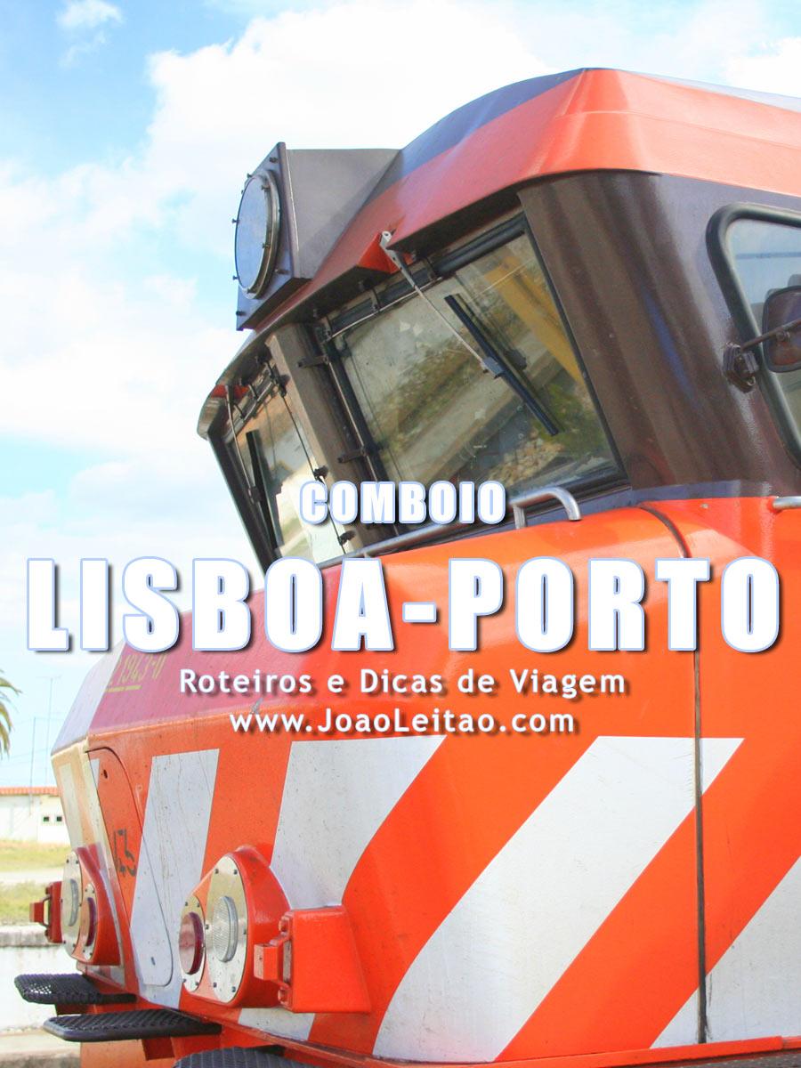 Comboio (trem) Lisboa Porto - Preços e Horários