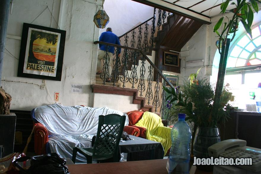 Alojamento barato, o Hostel Petra em Jerusalém