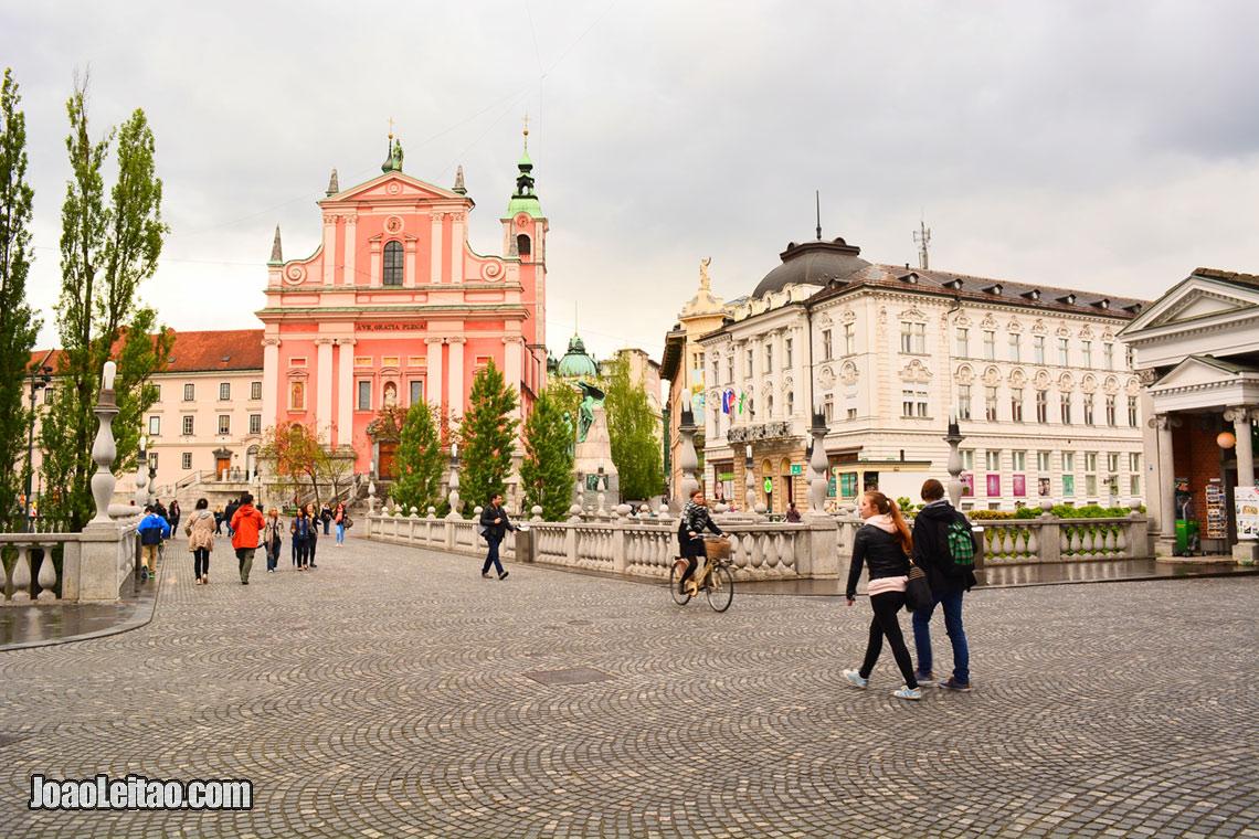O centro historico de Liubliana, Visitar Eslovenia