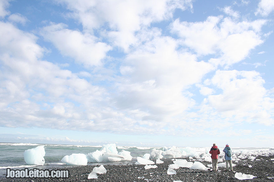 Praia de Jokulsarlon, Visitar a Islândia