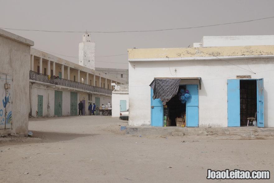 Centro de Nouadhibou, Visitar a Mauritânia