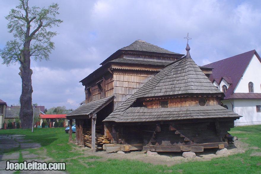 Igreja de madeira em Rudka, Visitar Polonia