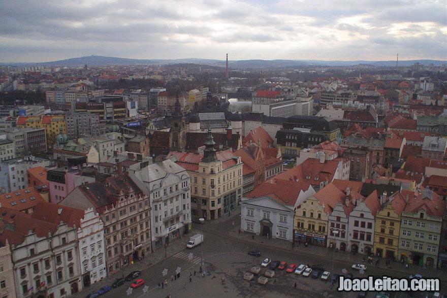 Vista panorâmica de Pilsen, Visitar a República Checa