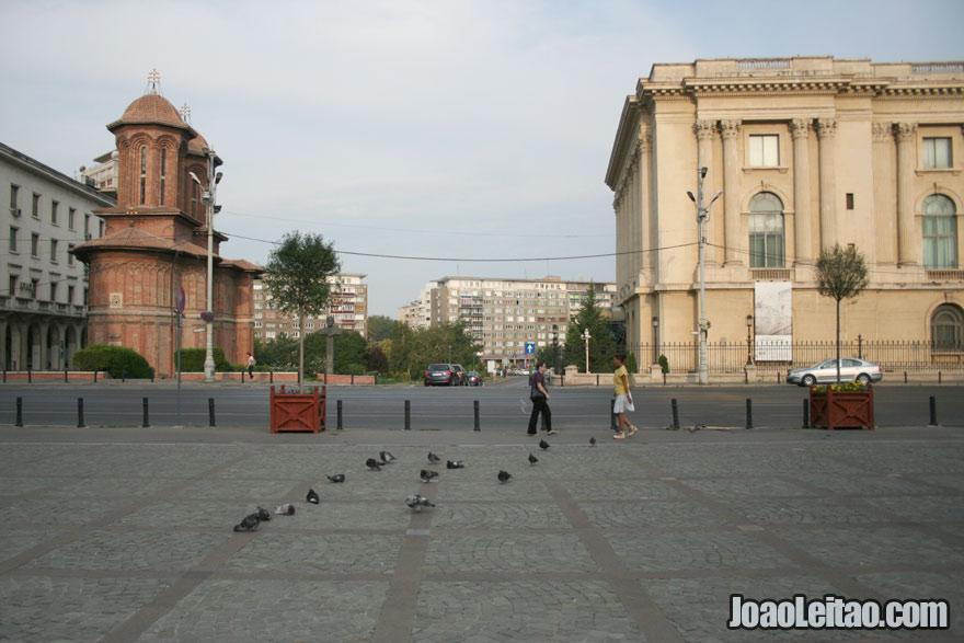 Centro de Bucareste, Visitar a Roménia