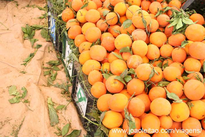 O sumo de laranja marroquino é muito doce