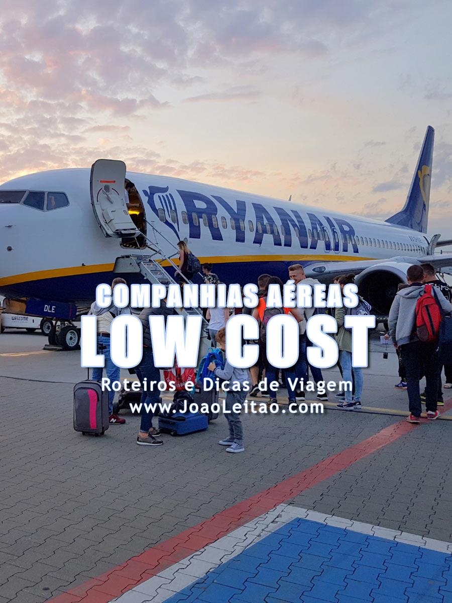 Lista de Companhias Aereas Low Cost