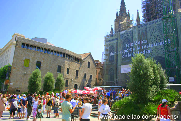 Foto da Catedral de Barcelona