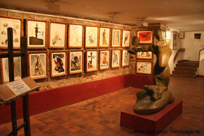 Foto do famoso Museu Picasso em Barcelona