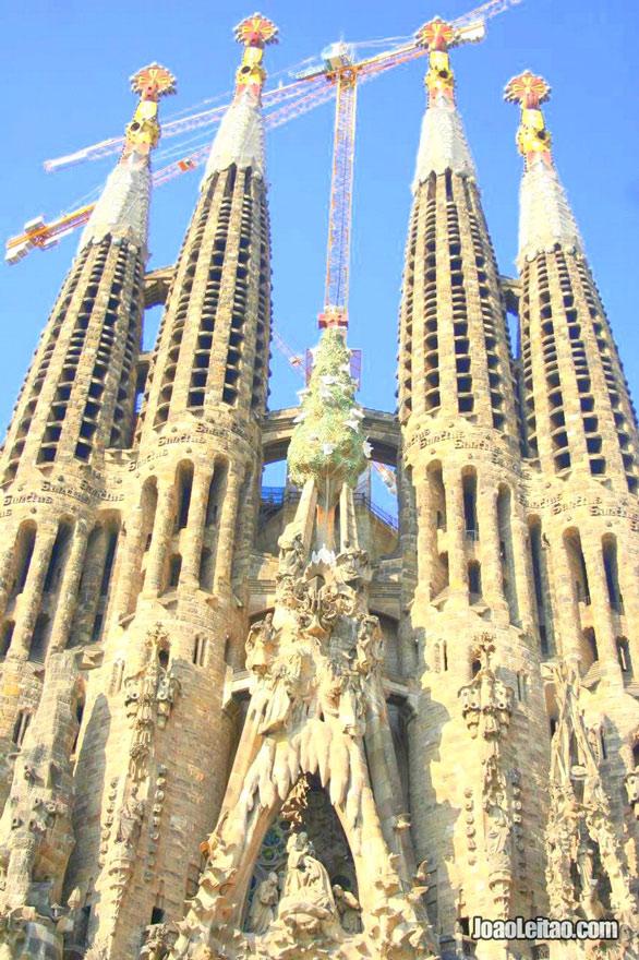 Igreja da Sagrada Família em Barcelona