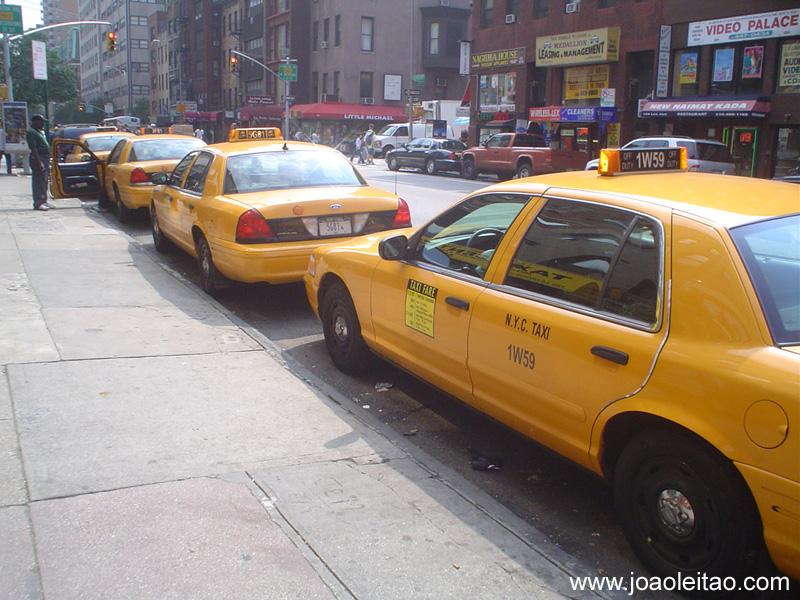 Táxis em Nova Iorque