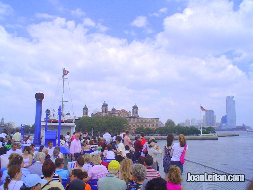 Barco até à Estátua da Liberdade, Visitar Nova Iorque