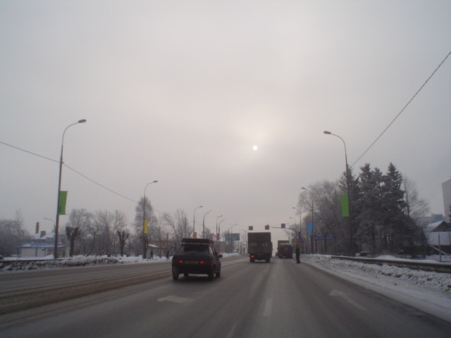 Condições da Estrada na Russia