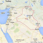 Mapa Google Iraque