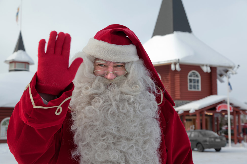 Aldeia do Pai Natal, foto source: Santa Claus Village Rovaniemi