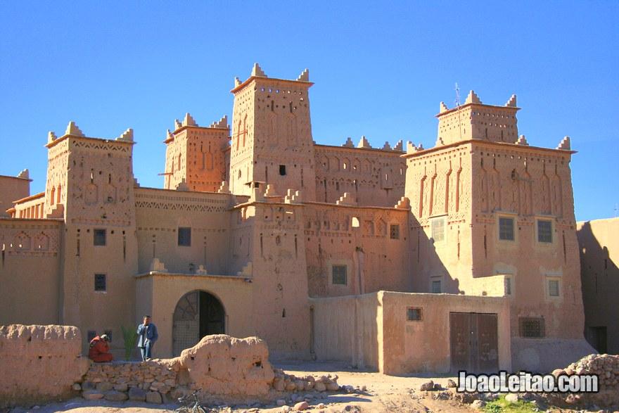 Casbá Amridil em Skoura, na região de Ouarzazate