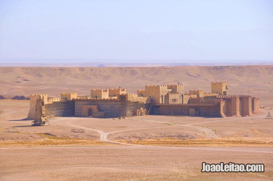 Estúdios de cinema CLA em Ouarzazate