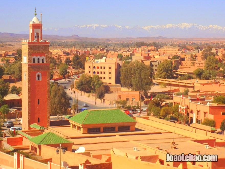 Mesquita central de Ouarzazate